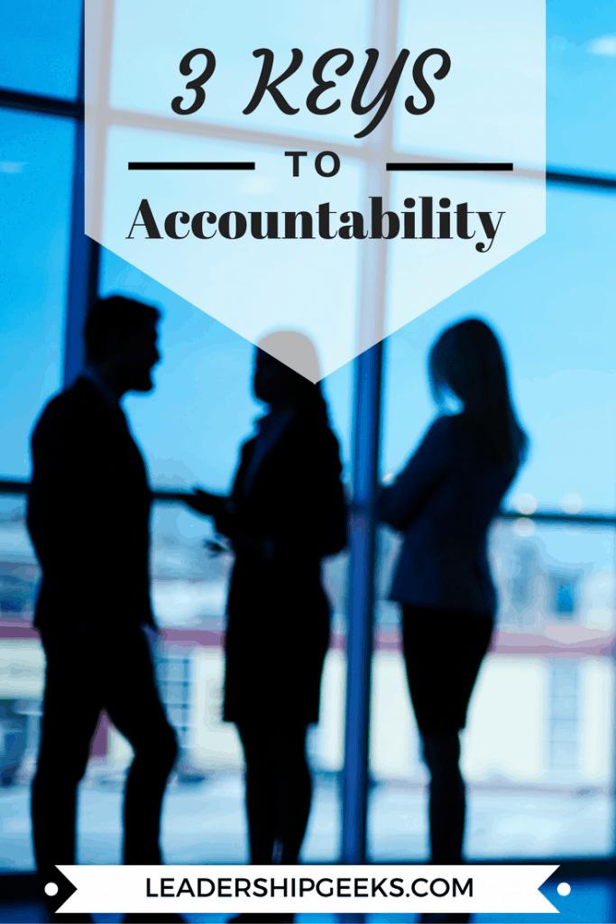 3 Keys to Accountability