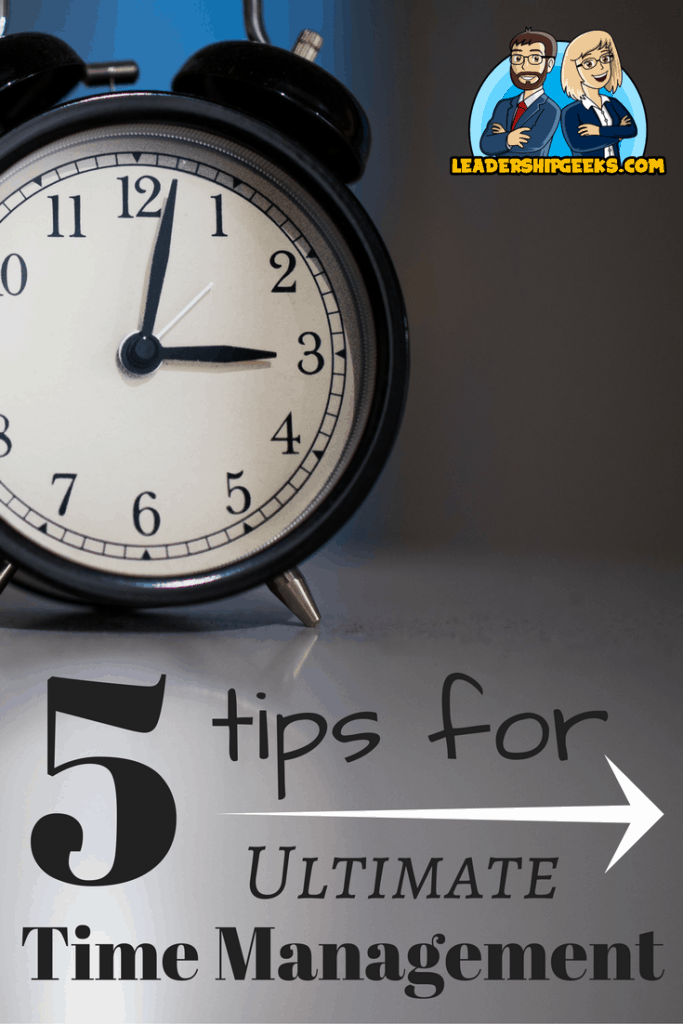 5 Tips for Ultimate Time Management