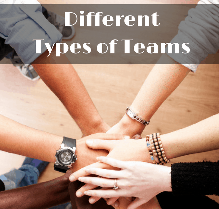 Five Different Types of Teams