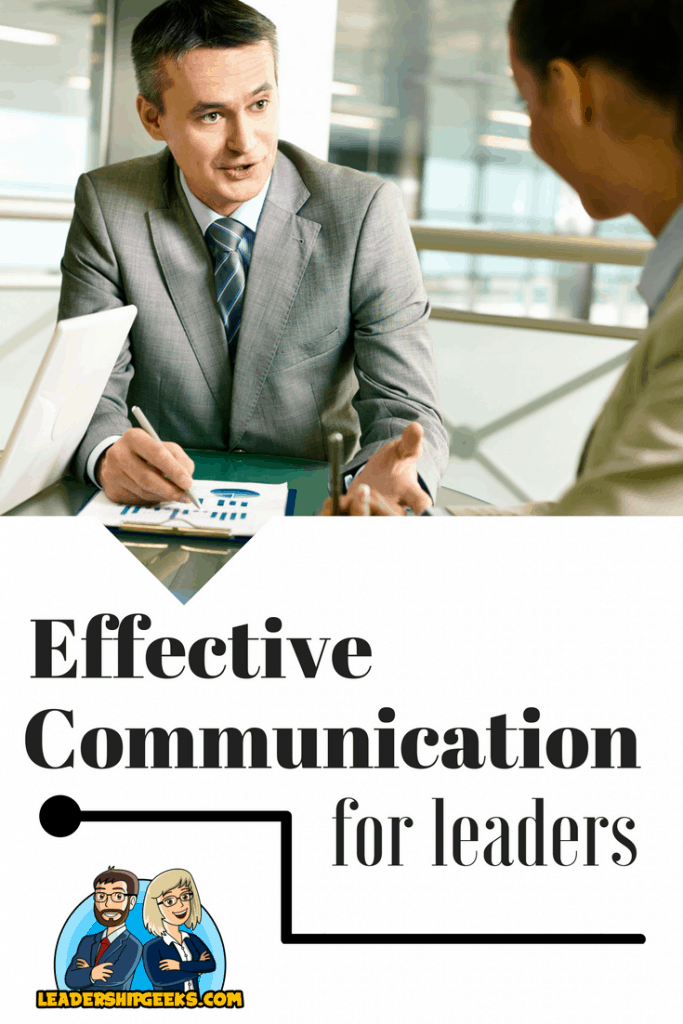 effective communication for leaders