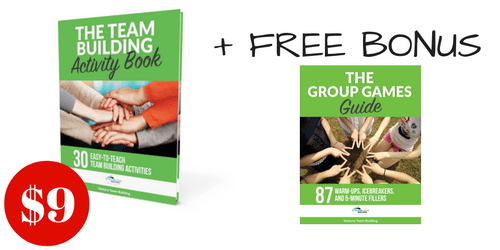 Team Building Activity Book + Group Games