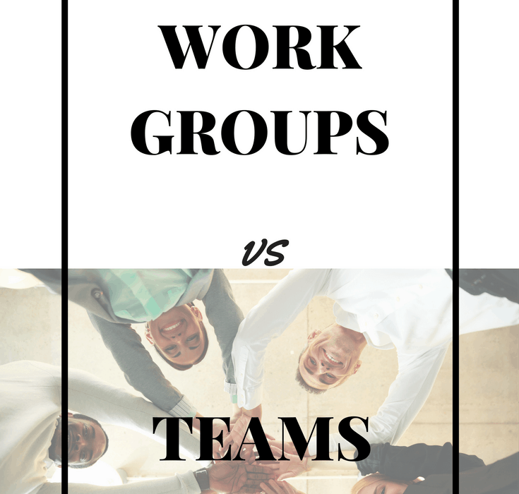 The Difference Between Work Groups and Teams