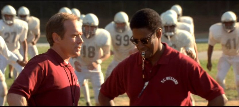 examples of leadership in remember the titans